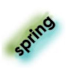 Imaginisce - Twitterpated Collection - Snag 'em Acrylic Stamp - Spring, CLEARANCE