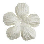 Imaginisce - Bazzill Collection - Flowers - Bling Blossoms - Small - Glass Slipper
