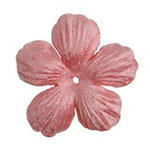 Imaginisce - Bazzill Collection - Flowers - Bling Blossoms - Small - Pink Cadillac