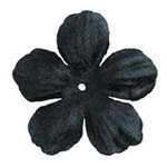 Imaginisce - Bazzill Collection - Flowers - Bling Blossoms - Small - Black Tie