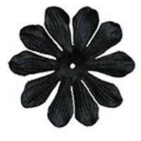 Imaginisce - Bazzill Collection - Flowers - Bling Blossoms - Large - Black Tie