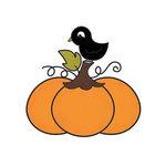 Imaginisce - Monster Mash Collection - Halloween - Snag 'em Acrylic Stamps - Pumpkin