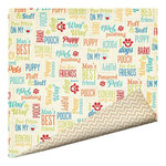 Imaginisce - Good Dog Collection - 12 x 12 Double Sided Paper - Dog Speak
