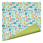 Imaginisce - Good Dog Collection - 12 x 12 Double Sided Paper - In the Dog House