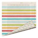 Imaginisce - Childhood Memories Collection - 12 x 12 Double Sided Paper - Day in the Life