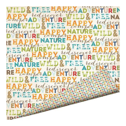 Imaginisce - Outdoor Adventure Collection - 12 x 12 Double Sided Paper - Wild and Free