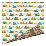 Imaginisce - Outdoor Adventure Collection - 12 x 12 Double Sided Paper - Twin Peaks