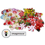 Imaginisce - Build a Blossom Kit - Winter and Christmas - Flowers