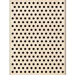 Inkadinkado - Wood Mounted Stamps - Polka Dot Pattern
