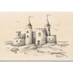 Inkadinkado - Wood Mounted Stamps - Sand Castle