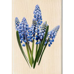 Inkadinkado - Photo Realistic Collection - Wood Mounted Stamps - Blue Bells