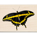 Inkadinkado - Photo Realistic Collection - Wood Mounted Stamps - Tiger Swallowtail