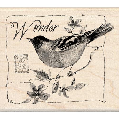 Inkadinkado - Designer Collection - Wood Mounted Stamps - Wonder Bird