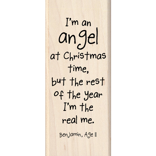 Inkadinkado - Kids Quotes Collection - Christmas - Wood Mounted ...