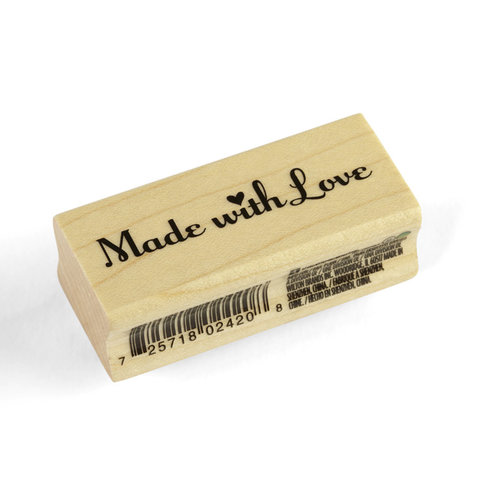 Inkadinkado - Valentine's Day Collection - Wood Mounted Stamps - Made with Love