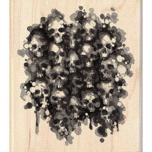 Inkadinkado - Inkblot Collection - Halloween - Wood Mounted Stamps - Skulls