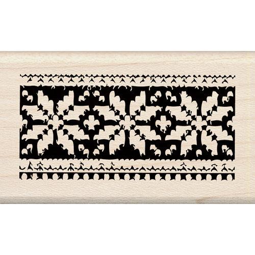 Inkadinkado - Holiday Collection - Christmas - Wood Mounted Stamps - Alpine Poinsettia