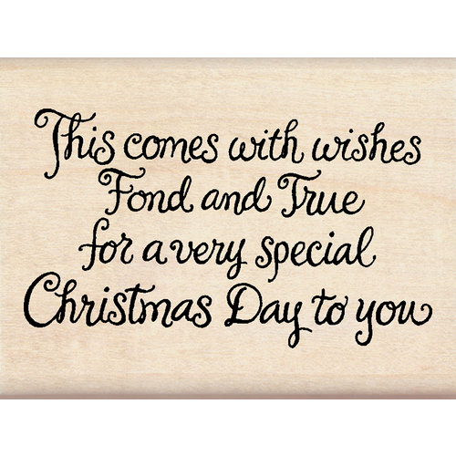 Inkadinkado - Holiday Collection - Christmas - Wood Mounted Stamps - Very Special Christmas