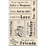 Inkadinkado - Layering Wood Card Making Collection - Wood Mounted Stamps - Love and Friendship