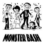 Inkadinkado - Halloween Collection - Clear Acrylic Stamps - Mini Monster Bash