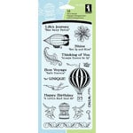 Inkadinkado - Clear Acrylic Stamp Set - Inspirational Lift, CLEARANCE