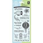 Inkadinkado - Clear Acrylic Stamp Set - Inspirational Lift, CLEARANCE