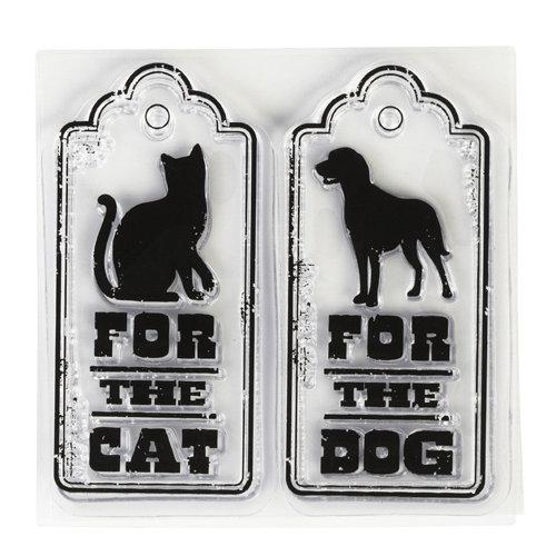Inkadinkado - Clear Acrylic Stamps - Mini Spoil Your Pet