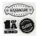 Inkadinkado - Clear Acrylic Stamps - Mini Honored Profession