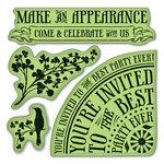 Inkadinkado - Inkadinkaclings Collection - Rubber Stamps -Party Invites