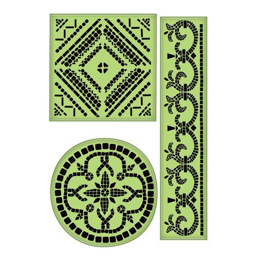 Inkadinkado - Inkadinkaclings - Rubber Stamps - Large Mosaics