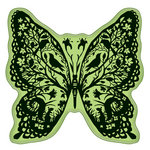 Inkadinkado - Inkadinkaclings - Rubber Stamps - Papercut Butterfly