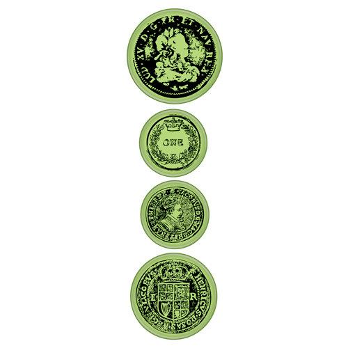 Inkadinkado - Inkadinkaclings - Rubber Stamps - Old Coins