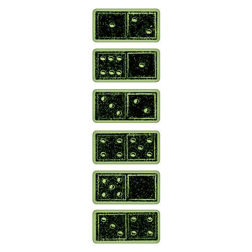 Inkadinkado - Inkadinkaclings - Rubber Stamps - Dominoes