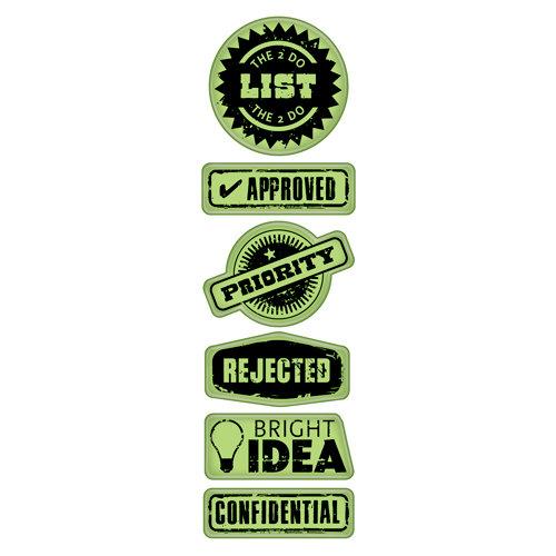 Inkadinkado - Inkadinkaclings - Rubber Stamps - Office Labels