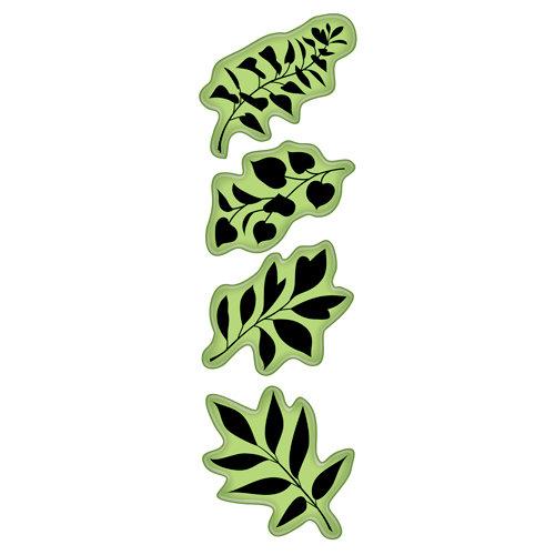 Inkadinkado - Inkadinkaclings - Rubber Stamps - Leaves