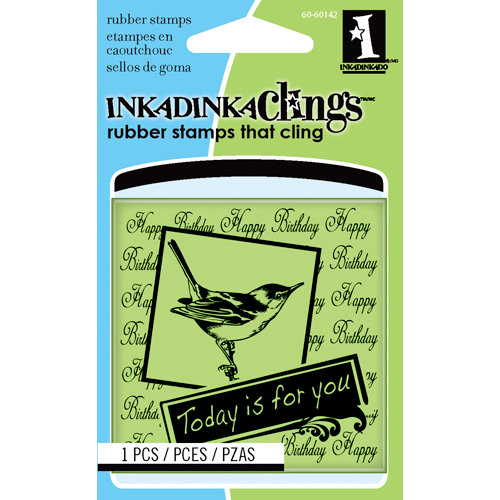Inkadinkado - Inkadinkaclings - Rubber Stamps - Today is For You Mini