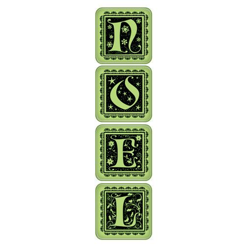 Inkadinkado - Holiday Collection - Christmas - Inkadinkaclings - Rubber Stamps - Noel