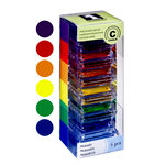 Inkadinkado - Stackables - Chalk Inkpad Set - Primary