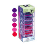 Inkadinkado - Stackables - Pigment Inkpad Set - Reds and Purples