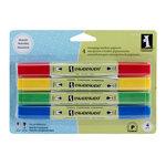 Inkadinkado - Stamping Marker Set - Pigment - Primary