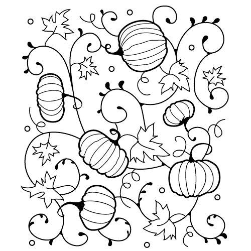Inkadinkado - Brayer Stamping Set - Autumn