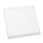 Inkadinkado - Clear Acrylic Stamp Block - Extra Large - 6 x 6