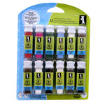 Inkadinkado - Embossing Powder Collection - 12 Piece Set