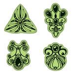 Inkadinkado - Stamping Gear Collection - Inkadinkaclings - Rubber Stamps - Jewelry
