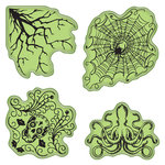 Inkadinkado - Stamping Gear Collection - Inkadinkaclings - Rubber Stamps - Halloween
