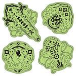 Inkadinkado - Stamping Gear Collection - Inkadinkaclings - Rubber Stamps - Birthday Fiesta