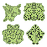 Inkadinkado - Stamping Gear Collection - Inkadinkaclings - Rubber Stamps - Antiquity