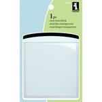Inkadinkado - Clear Acrylic Mini Stamp Block