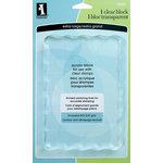 Inkadinkado - Clear Acrylic Stamp Block - Extra Large