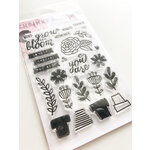 Ink Road Stamps - Clear Photopolymer Stamps - Bloom Where You Are Planted